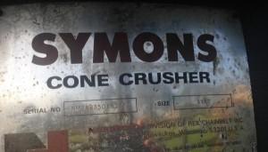 symons cone 4