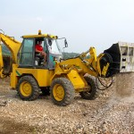 MB-L on backhoe