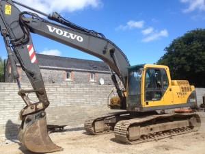 Excavator Volvo EC210BLC